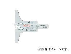 シンワ測定 タイヤ溝測定ゲージ ミニデップスゲージ 19300 JAN:4960910193000