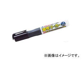 シンワ測定 工事用 油性マーカー 中字 丸芯 黒 78424 JAN:4960910784246