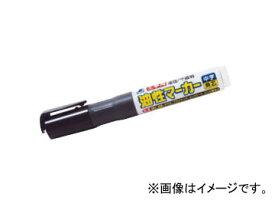 シンワ測定 工事用 油性マーカー 中字 角芯 黒 78430 JAN:4960910784307
