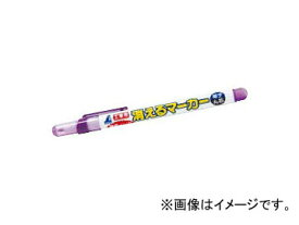 シンワ測定 工事用 消えるマーカー 細字 丸芯 紫 78422 JAN:4960910784222