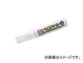 シンワ測定 工事用 ペイントマーカー 太字 丸芯 白 78547 JAN:4960910785472