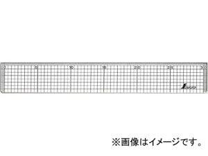 シンワ測定 直定規 アクリル製 方眼直定規 45cm 77097 JAN:4960910770973