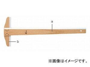 シンワ測定 T型定規 木製 60cm 76759 JAN:4960910767591