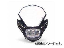 2輪 ラフ&ロード ACERBIS LEDビジョンHPヘッドライト ブラック AC-13429