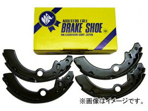 MK樫山 ブレーキシュー Z1280-10/Z1280-20 リア ニッサン マーチ K13T 2WD 1200cc 2010年07月〜