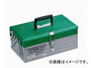 リングスター/RING STAR 工具箱 フリーボックス メタリックBOX MB-350 グリーン/シルバー JAN:4963241004380