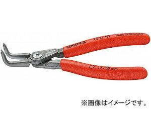 クニペックス/KNIPEX 穴用精密スナップリングプライヤー 曲 品番:4821-J31 JAN:4003773050230