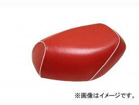 2輪 グロンドマン 国産シートカバー 赤/白パイピング (張替) 品番:GH17KC40P20 JAN:4562492999287 カワサキ バリオス(ZR250)
