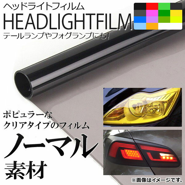 AP ヘッドライトフィルム ノーマルタイプ 40×100cm 選べる16カラー AP-FILM-N40
