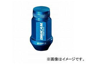 デジキャン アルミレーシングナット ライトブルー 19HEX袋 P1.5 45mm 入数:1セット(16本入) ニッサン デイスルークス B21A 2014年02月〜