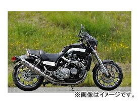 2輪 OVER マフラー GP-PERFORMANCE Type-S ツインチタン 20-34-STW ヤマハ V-MAX1200 JAN:4539770102363