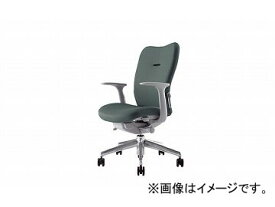 ナイキ/NAIKI リンカー/LINKER エネア 事務用チェアー グレー ZE511F-GL 620×590×900〜985mm