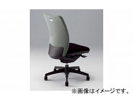 ナイキ/NAIKI リンカー/LINKER シェルモ 事務用チェアー グレー WE512F-GL 619×620×908〜978mm