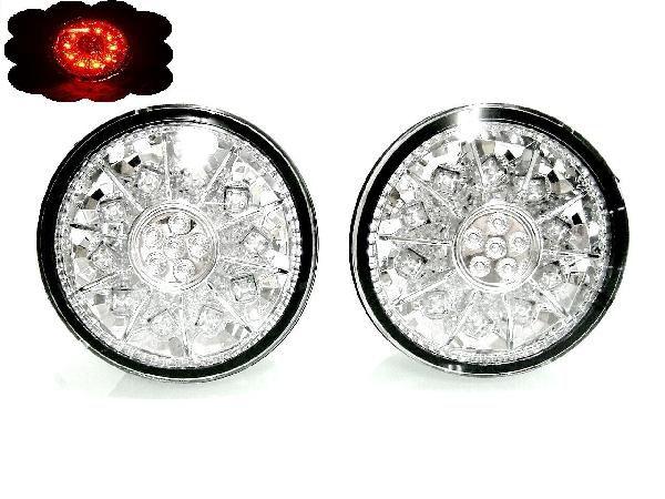 送込 トヨタ アルテッツァ 10系 LED クリスタル テール ランプ