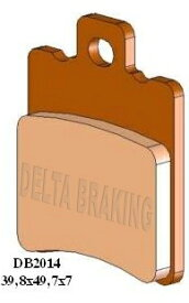 DELTA(デルタ) ブレーキパッド マラグーティ ファントム50/70/100/ファイアーフォックスF15 1セット(2枚組)