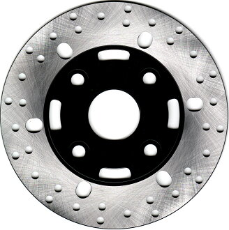 Disk rotor ground axis (4 hole types)