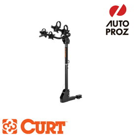 [CURT 正規品] CURT カートヒッチマウントバイクラック(自転車ラック/サイクルキャリア)※1 1/4インチ・2インチ  レシーバーサイズ用※自転車2台搭載 メーカー保証付