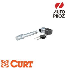[CURT 正規品] ロックピン/ヒッチロック 2インチ角(40mm角にも適合) クロム×ブラック メーカー保証付