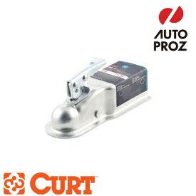 [CURT 正規品] クラス3 ポジロック トレーラーカプラー 3インチチャンネル 2インチボール用 メーカー保証付