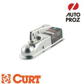 [CURT 正規品] クラス1 ポジロック トレーラーカプラー 2インチチャンネル 1-7/8インチボール用 メーカー保証付