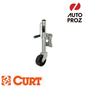 [CURT 正規品] マリンジャッキ サイドハンドル 6インチキャスター付 耐荷重1000LB ストローク10インチ メーカー保証付