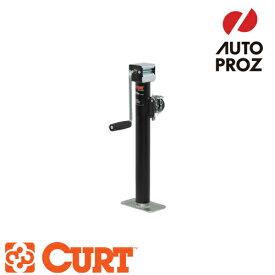 [CURT 正規品] パイプマウントスウィベルジャッキ サイドハンドル 耐荷重5000LB ストローク15インチ メーカー保証付