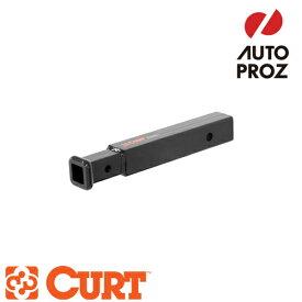 [CURT 正規品] トレーラーヒッチ用 変換レシーバー/アダプター 2インチ→1.25インチ変換 ※9.5インチ延長 メーカー保証付