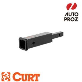 [CURT 正規品] トレーラーヒッチ用 変換レシーバー/アダプター 1.25インチ→2インチ変換 ※10インチ延長 メーカー保証付