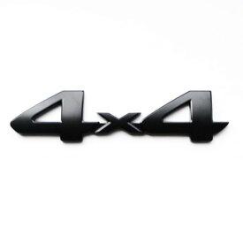 """【USトヨタ 直輸入純正品】 TOYOTA タンドラ TRD Proシリーズ """"4x4"""" エンブレム ブラック"""