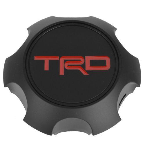 [USトヨタ 直輸入純正品] TOYOTA TRD 17インチホイール専用 センターキャップ ブラック