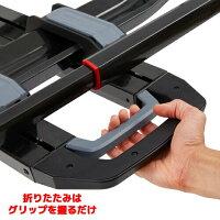 [YAKIMA正規品]ドクタートレー2台積載50mm/2インチヒッチ角用※トランクヒッチ用バイクラック