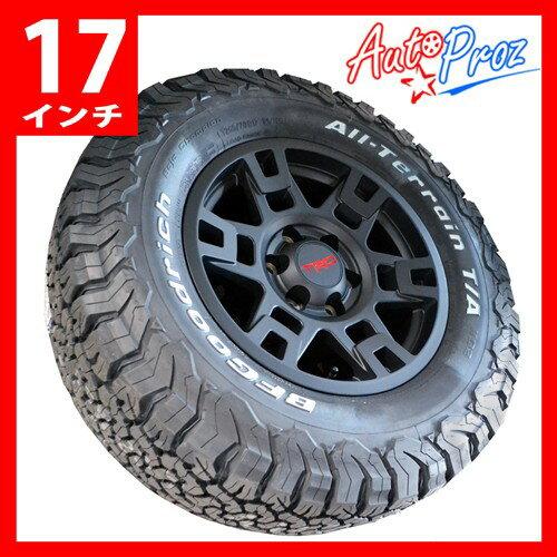 [USトヨタ直輸入純正] TRD 17インチ マットブラック タイヤホイール 4