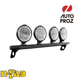 【USエヌファブ 直輸入正規品】 n-Fab フォード F150/ラプター 2009-2014年式 ライトバーマウント ツヤありブラック