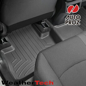 [Weathertech 正規品] トヨタ XA50型 RAV4 ガソリン車 2019年式以降現行 フロアマット/フロアライナー 2列目 ブラック