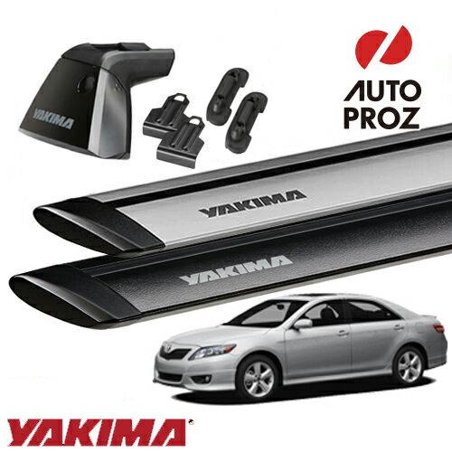 [USヤキマ 正規輸入代理店] YAKIMA トヨタ カムリ 2006-2011年式 ACV40に適合 ベースラックセット (ベースライン・ベースクリップ123,153・ジェットストリームバーS)