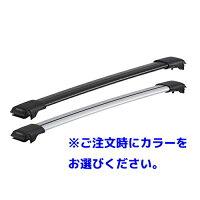 [YAKIMA正規品]トヨタ150系ランドクルーザープラドルーフレール有り車両に適合ベースラックセット(レールバーLGサイズ×2)
