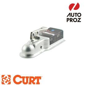 [CURT 正規品] クラス2 ポジロック トレーラーカプラー 3インチチャンネル 2インチボール用 メーカー保証付