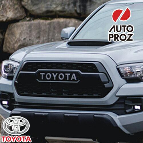 [USトヨタ 直輸入純正品] タコマ 2017年式 TRD Pro限定 マットブラックフロントグリル