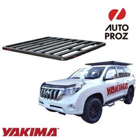 [YAKIMA 正規品] トヨタ ランドクルーザープラド 150系 ロックンロードU ベースキャリアセット ルーフラック/フラットラック ※2130x1485mm・3バー