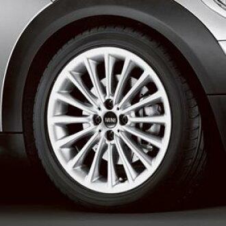 MINI Cooper Hardtop Mini Cooper 17-inch wheel multi-spoke (silver) ※Tire  wheel four set