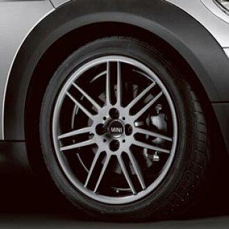 MINI Cooper Hardtop Mini Cooper 17-inch wheel four double pork (gray) ※Tire  wheel four set