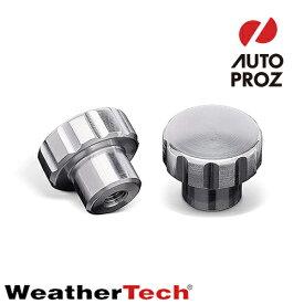 [WeatherTech 正規品] ウェザーテック カップフォン 交換用 アルミニウム ノブ 2個 カップホルダー スマートフォンホルダー iPhone アイフォン アンドロイド