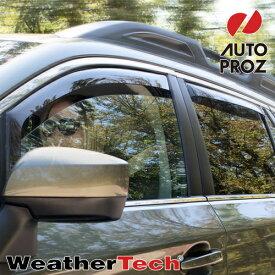 [Weather Tech・直輸入正規品]Land Rover Range Rover(ランドローバー レンジローバー)2014年ウェザーテック ウィンドウディフレクター(ウィンドーバイザー/サイドバイザー)