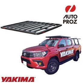 [YAKIMA 正規品] トヨタ ハイラックス GUN125型 2015年以降現行 ロックンロードA ベースキャリアセット ルーフラック/フラットラック ※1530x1240mm・2バー