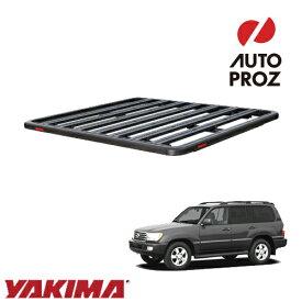 [YAKIMA 正規品] トヨタ ランドクルーザー 100系 1998-2007年 ロックンロードC ベースキャリアセット ルーフラック/フラットラック ※1930x1380mm・3バー