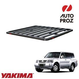 [YAKIMA 正規品] 三菱 パジェロ 1999-2006年 ロックンロードC ベースキャリアセット ルーフラック/フラットラック ※1930x1380mm・3バー