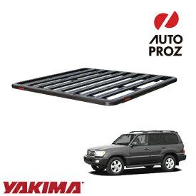 [YAKIMA 正規品] トヨタ ランドクルーザー 100系 1998-2007年 ロックンロードD ベースキャリアセット ルーフラック/フラットラック ※2130x1425mm・3バー