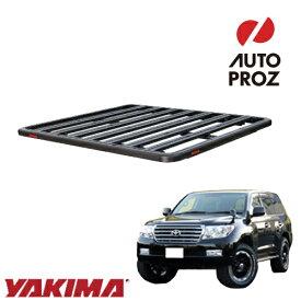 [YAKIMA 正規品] トヨタ ランドクルーザー 200系 2007年以降現行 ロックンロードD ベースキャリアセット ルーフラック/フラットラック ※2130x1425mm・3バー