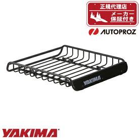 エントリーで最大P33.5倍 ルーフラック ルーフバスケット YAKIMA ロードウォーリアー 112cm x 100cm x 16.5cm 正規品 メーカー保証付