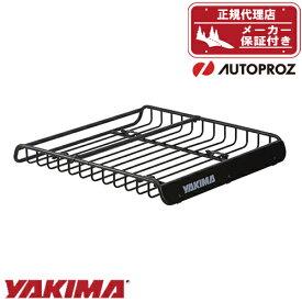エントリーで最大P33.5倍 ルーフラック ルーフバスケット YAKIMA メガウォーリアー 132cm x 122cm x 16.5cm 正規品 メーカー保証付